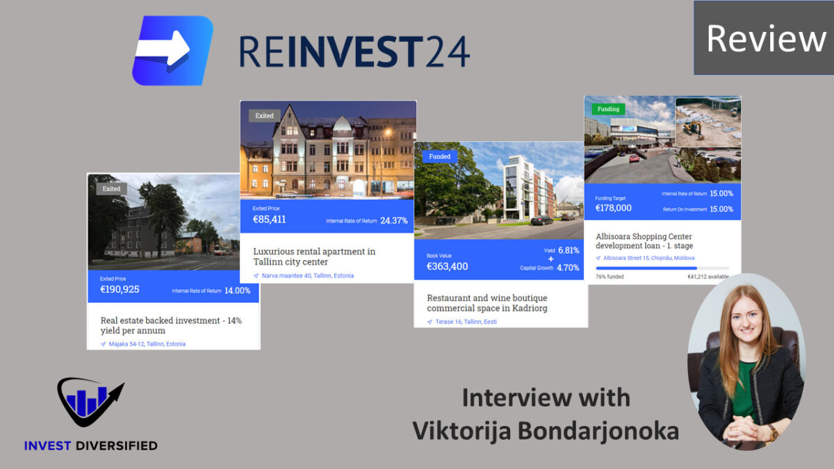 reinvest24 first review interview