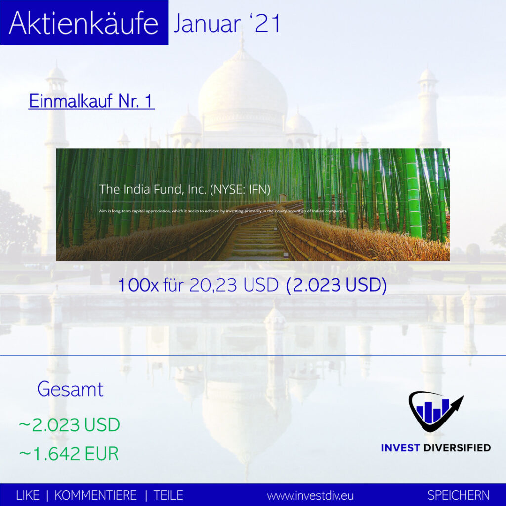 stock purchases january 2021